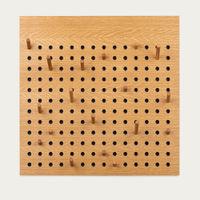 Oak Scoreboard Square | Bombinate