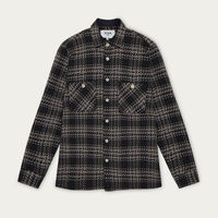 Dark Beatnik Whiting Shirt | Bombinate