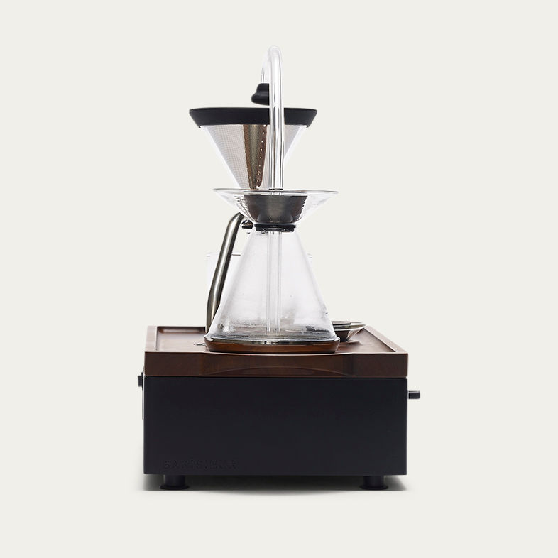 Black Barisieur Coffe Alarm Clock | Bombinate