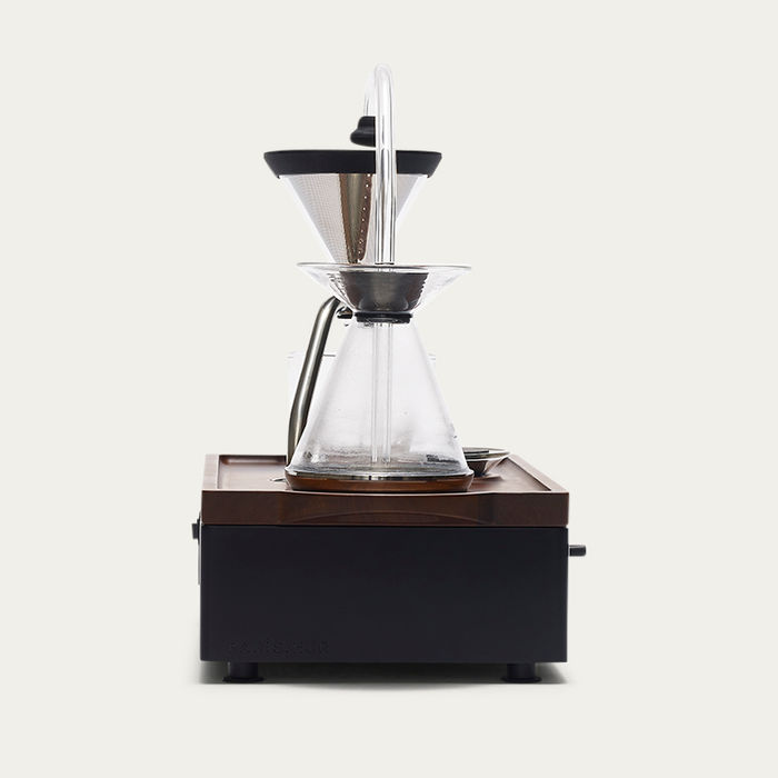 Black Barisieur Coffee Alarm Clock  | Bombinate