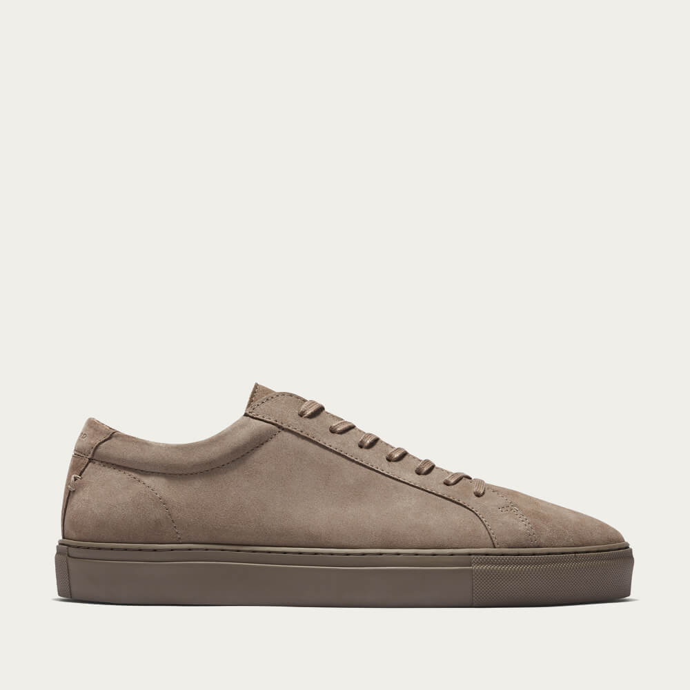 Triple Taupe Suede Series 1 Suede Sneakers | Bombinate