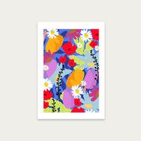 Garden At My Window Art Print Unframed | Bombinate
