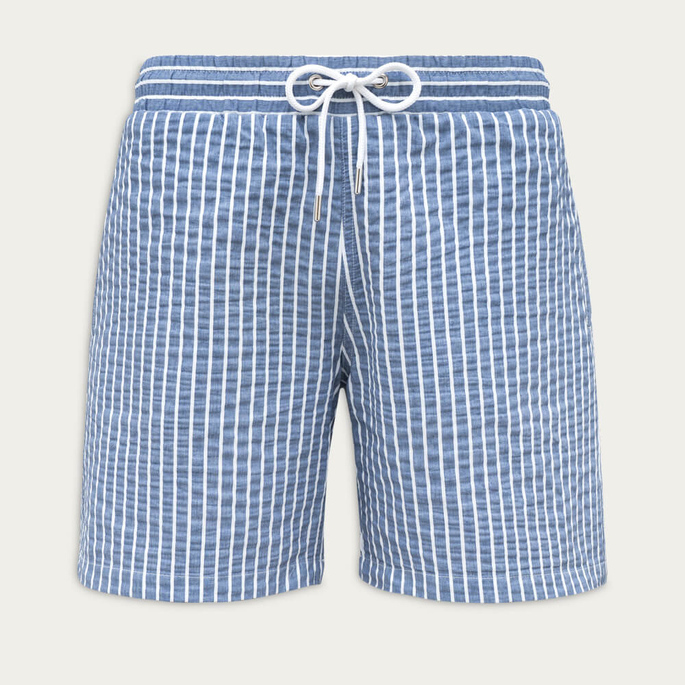 Azure Blue Classic Originals Swim Shorts | Bombinate