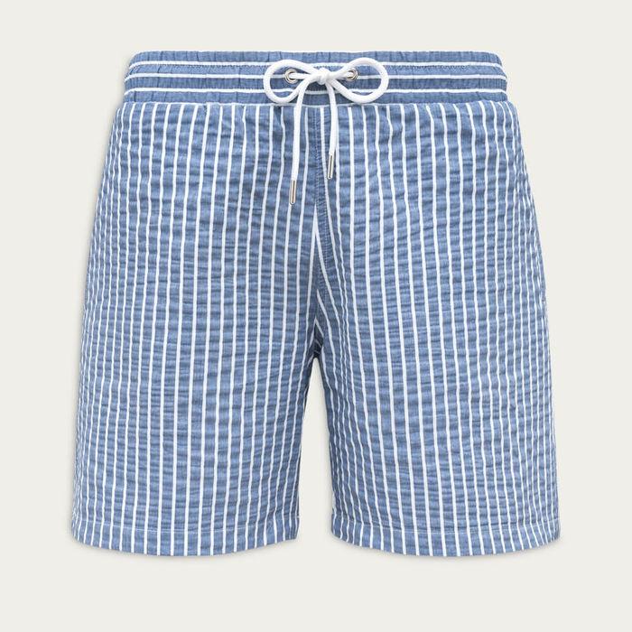 Azure Blue Classic Originals Swim Shorts   Bombinate