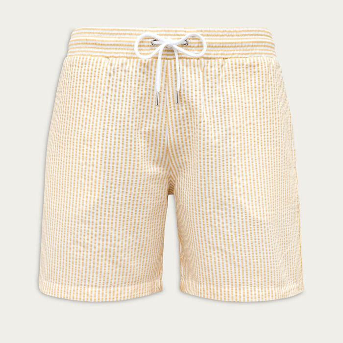 Yellow Classic Originals Swim Shorts | Bombinate