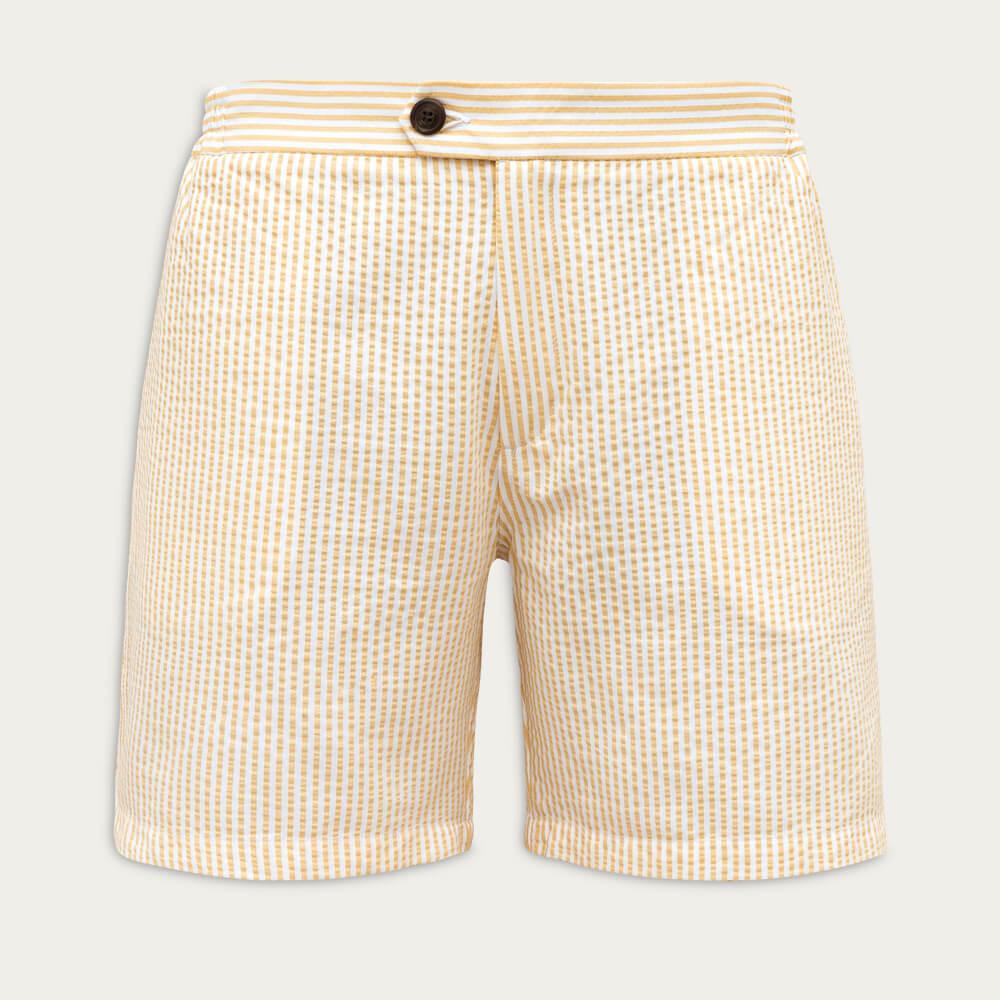Yellow Tailored Originals Swim Shorts | Bombinate