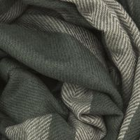 Forest Green with Silt Green Oxford Scarf   | Bombinate