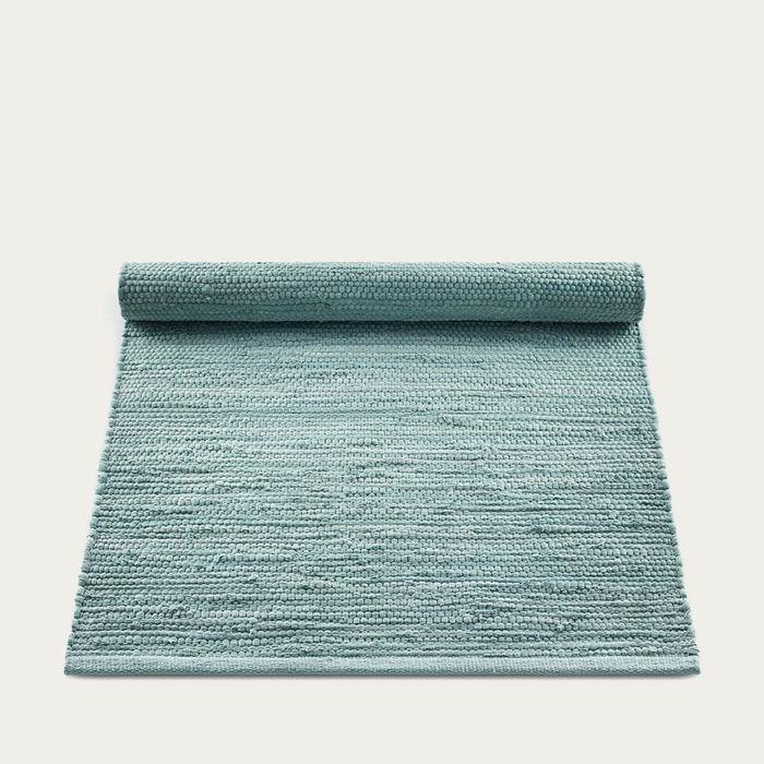 Dusty Jade Cotton Rug | Bombinate