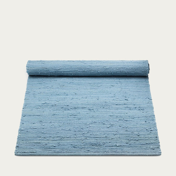Eternity Blue Cotton Rug | Bombinate