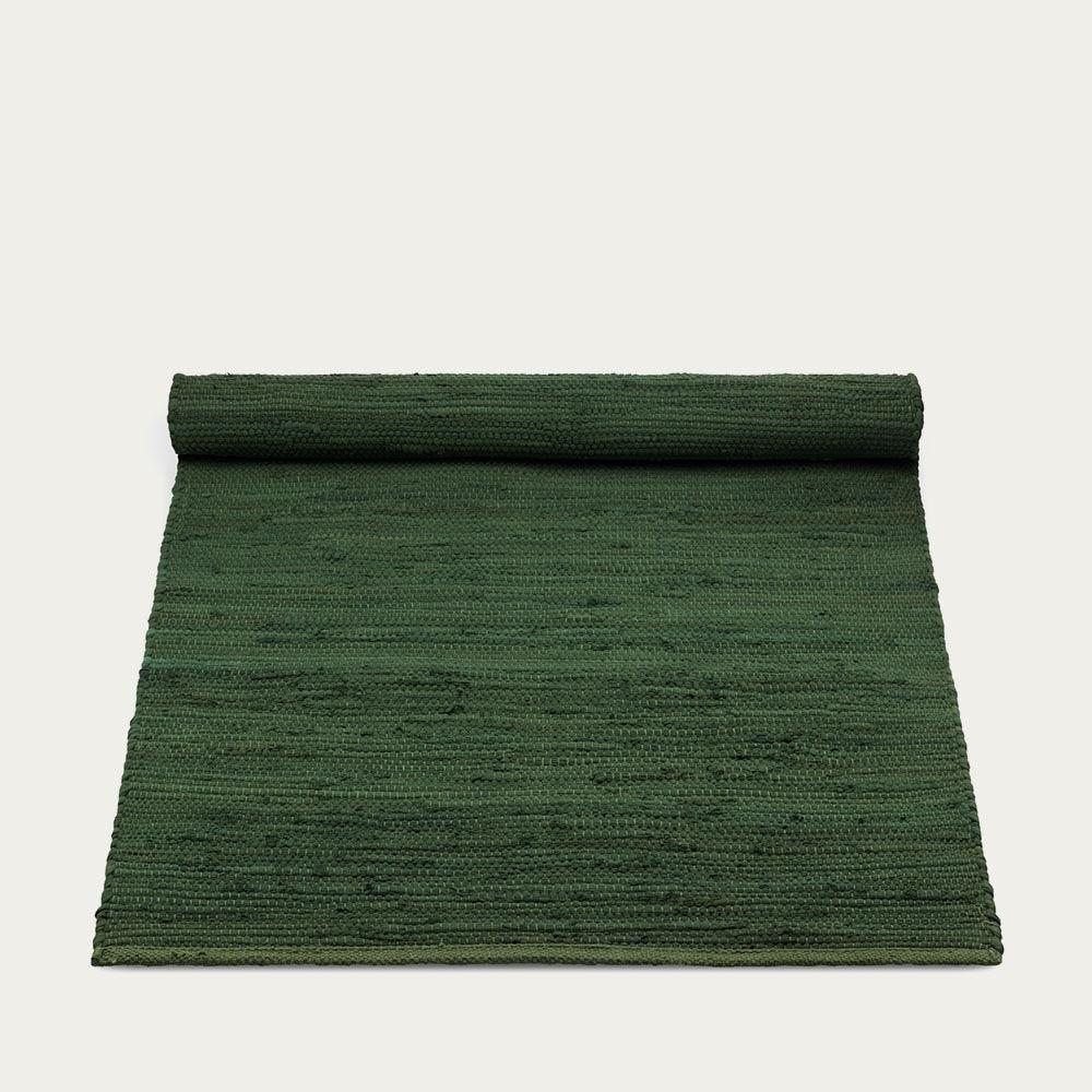 Guilty Green Cotton Rug | Bombinate