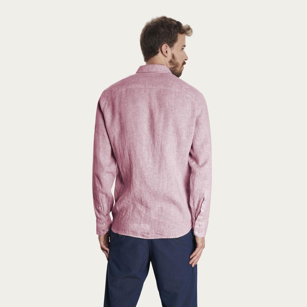 Pink Linen Feel Good Shirt | Bombinate