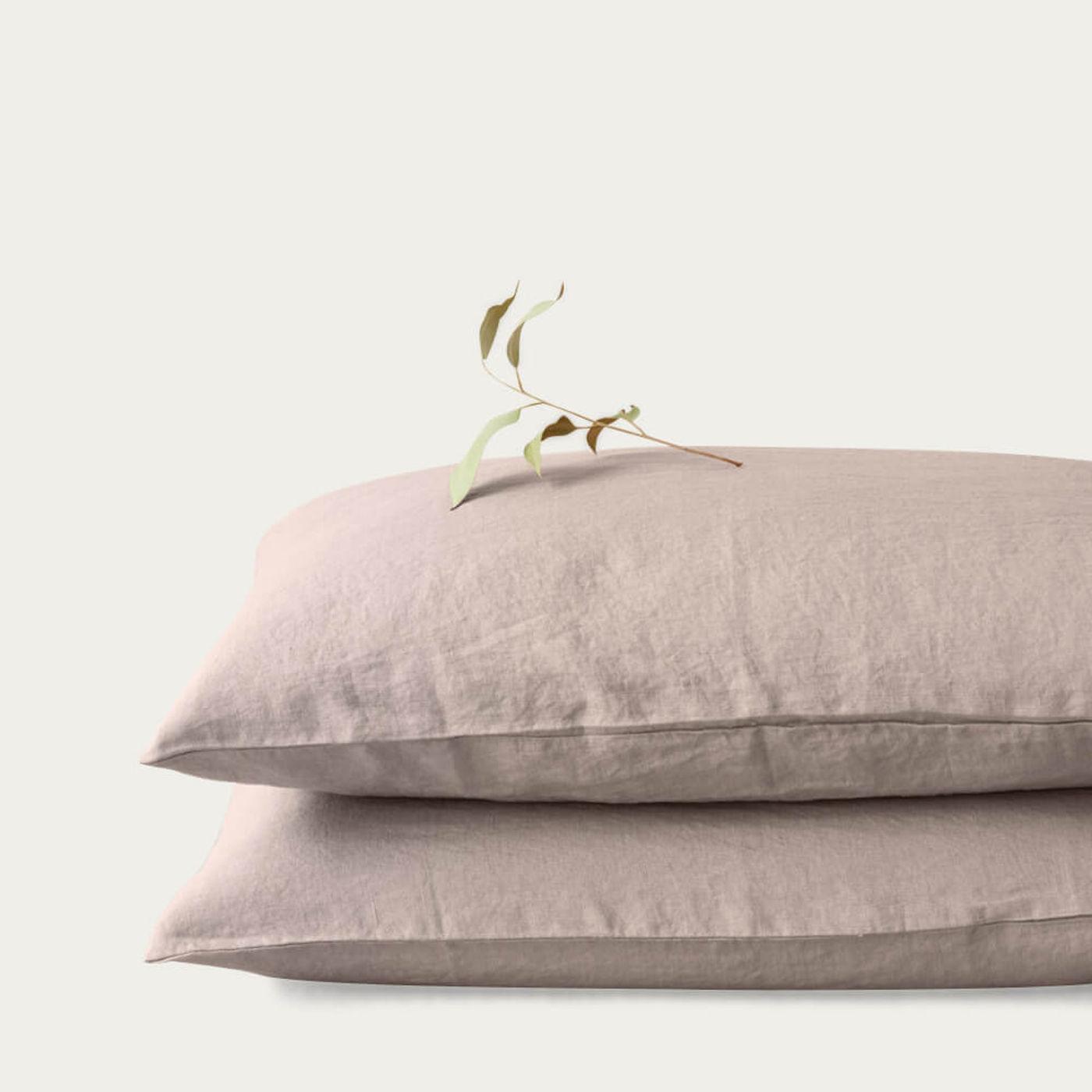 Portobello Washed Linen Pillow Case   Bombinate