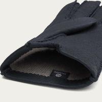 Blue Maurizio Handmade Peccary Leather Gloves | Bombinate