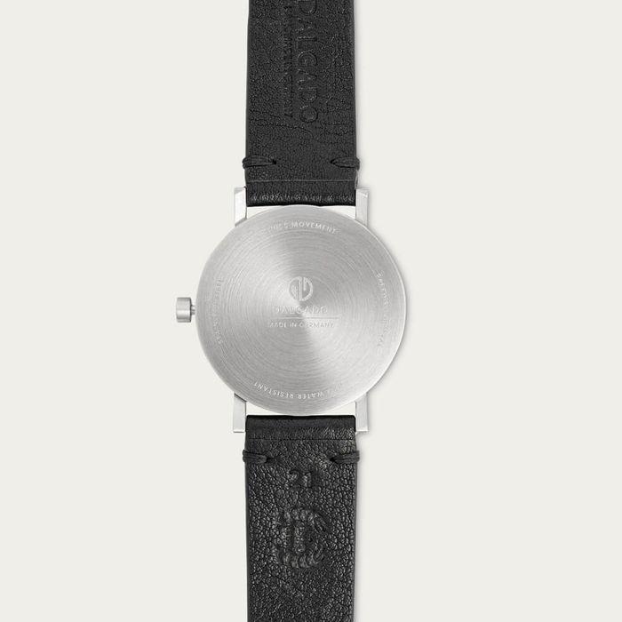 White Léon Chronograph Watch | Bombinate