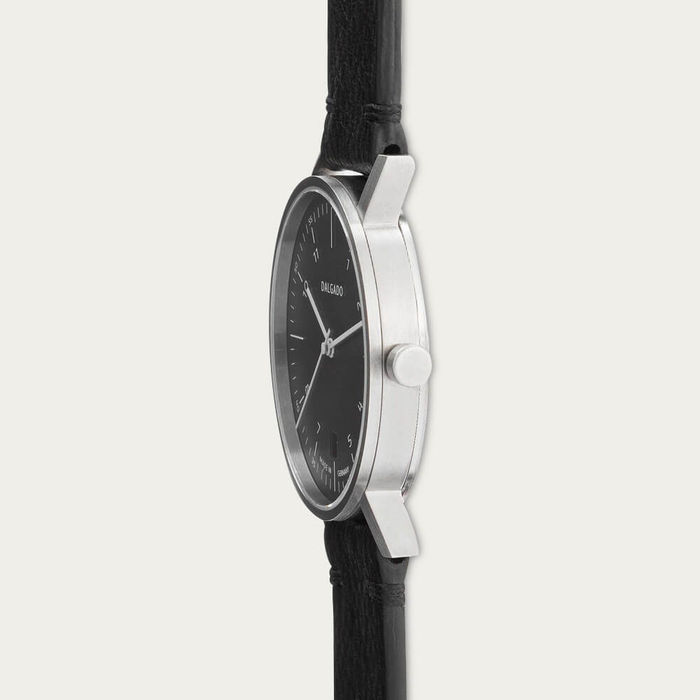 Black Julian Three-Hand Watch | Bombinate
