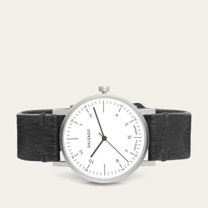 White Luca Three-Hand Watch | Bombinate