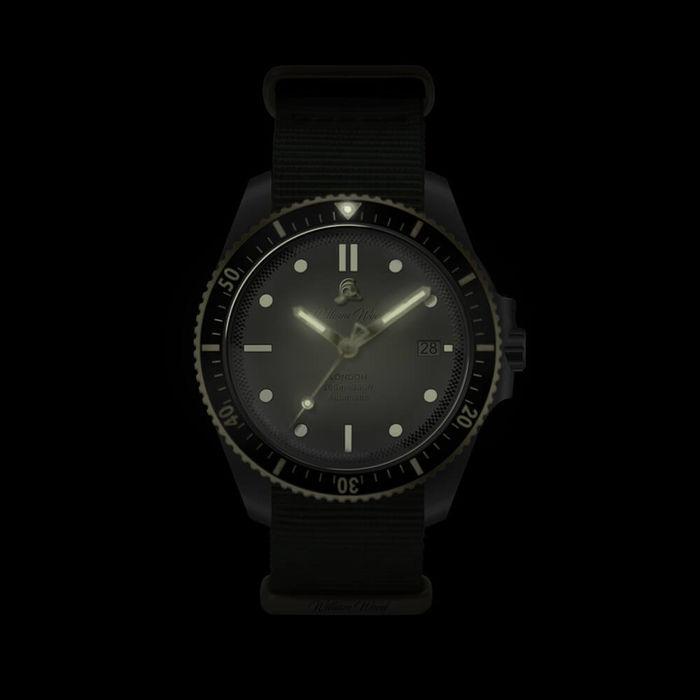 The Valiant White Watch / Nato Strap | Bombinate