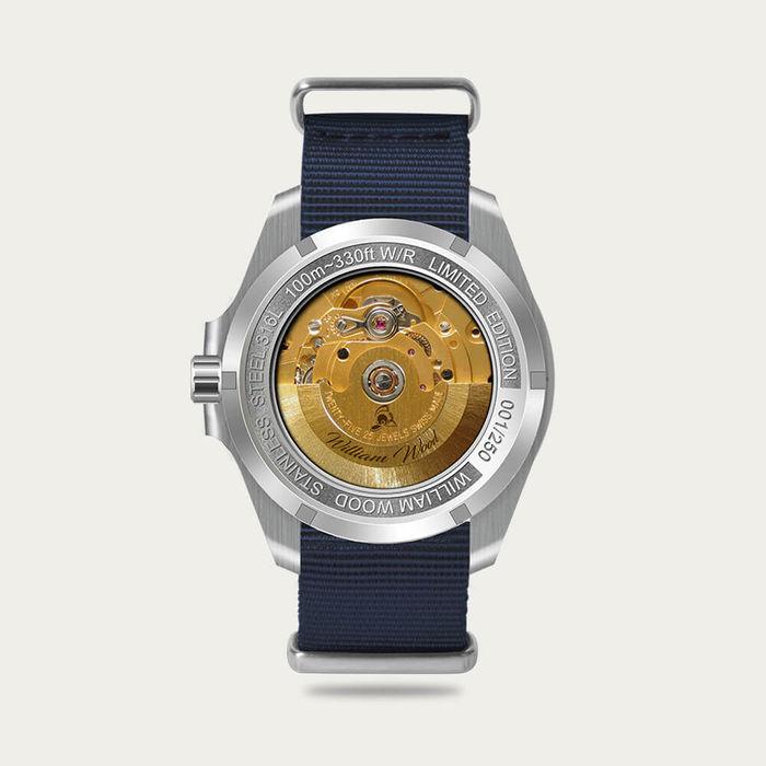 The Valiant Blue Watch / Nato Strap | Bombinate