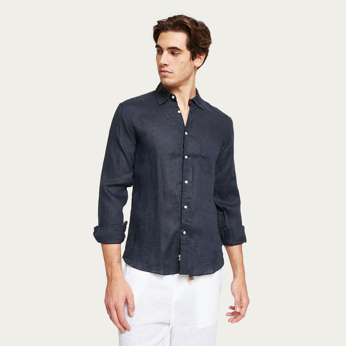 L1 Linen Shirt Stromboli | Bombinate