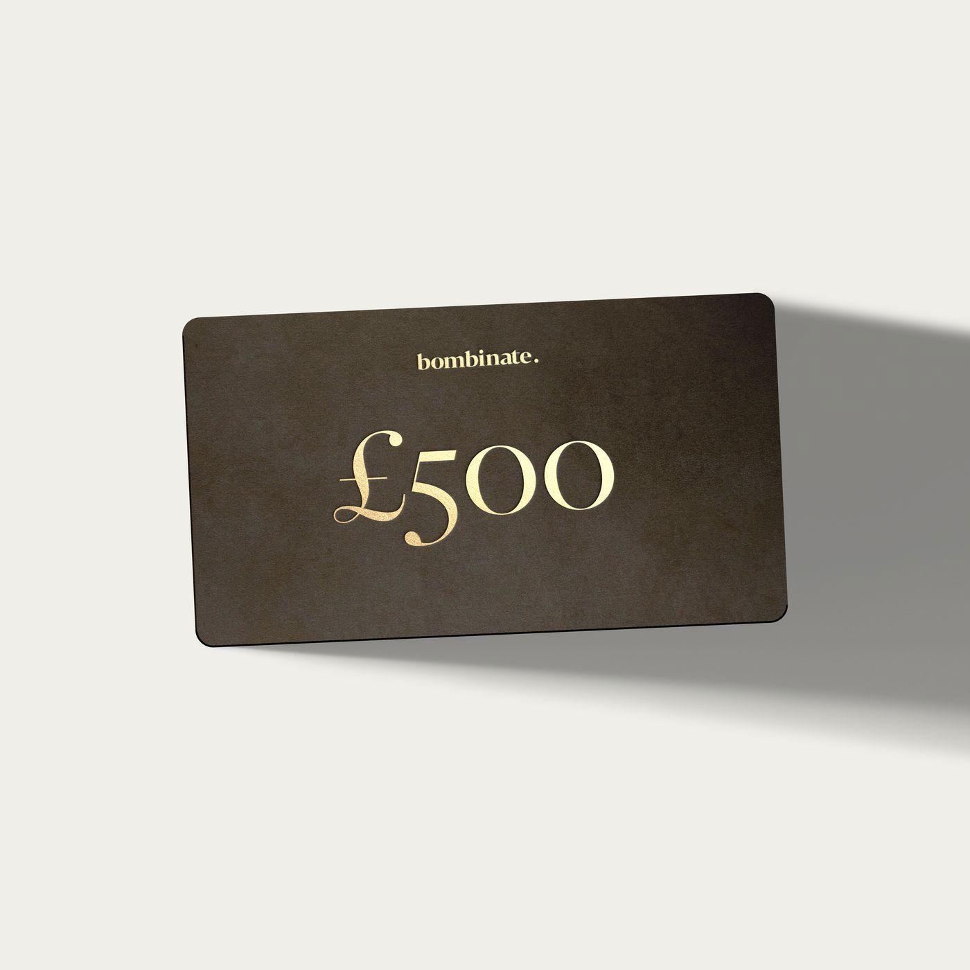 £500 eGift Card   | Bombinate