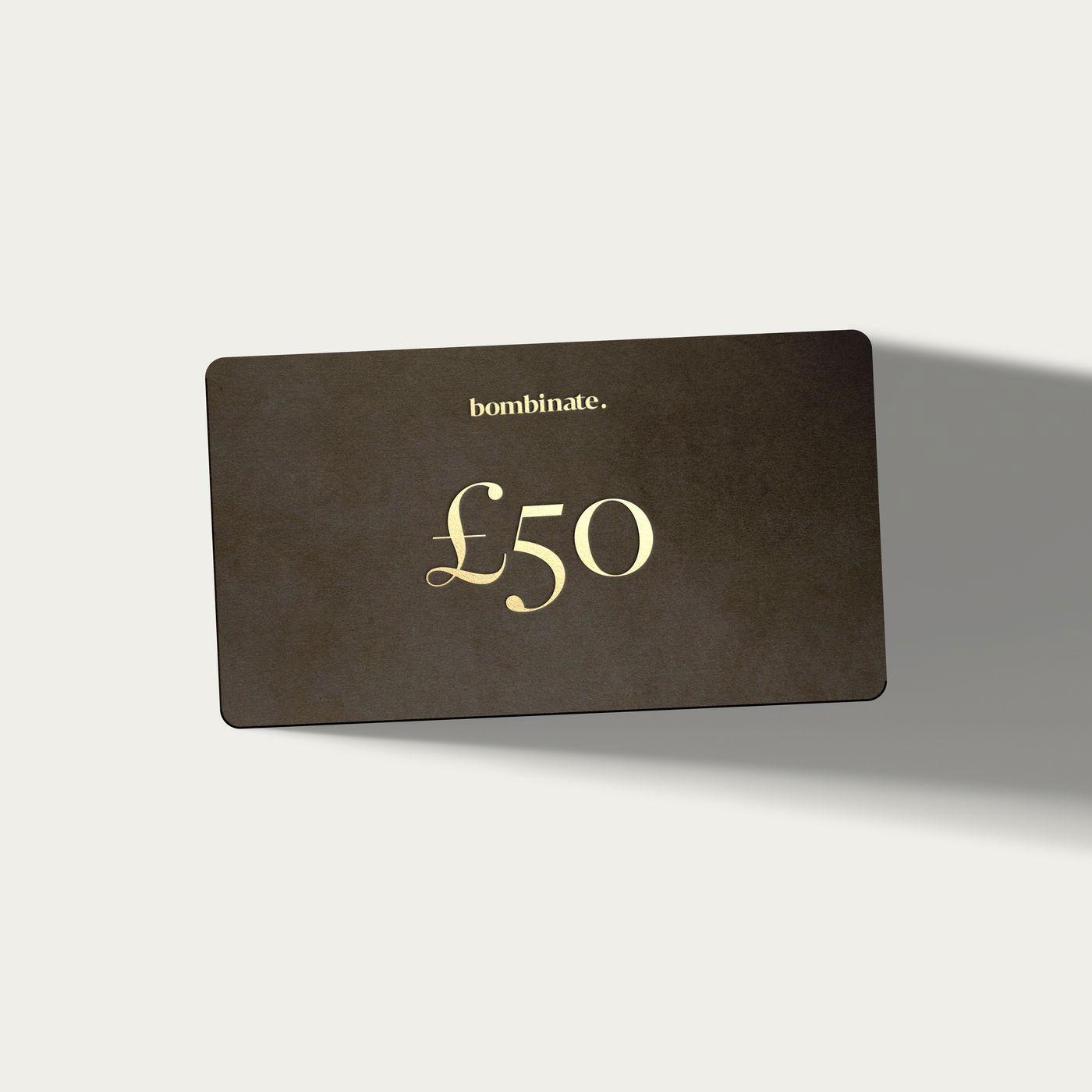 50 eGift Card     Bombinate