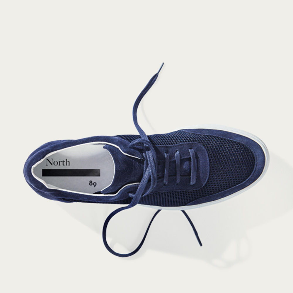 No-2 Deep Blue Sneakers | Bombinate