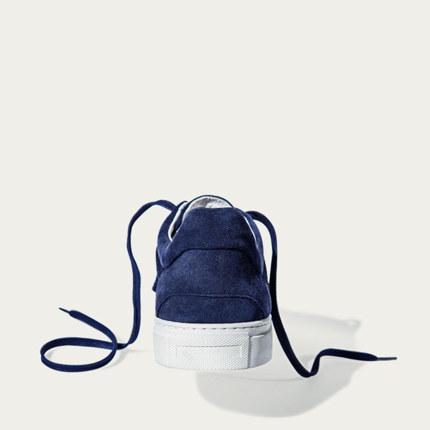 No-2 Deep Blue Sneakers | Bombinate