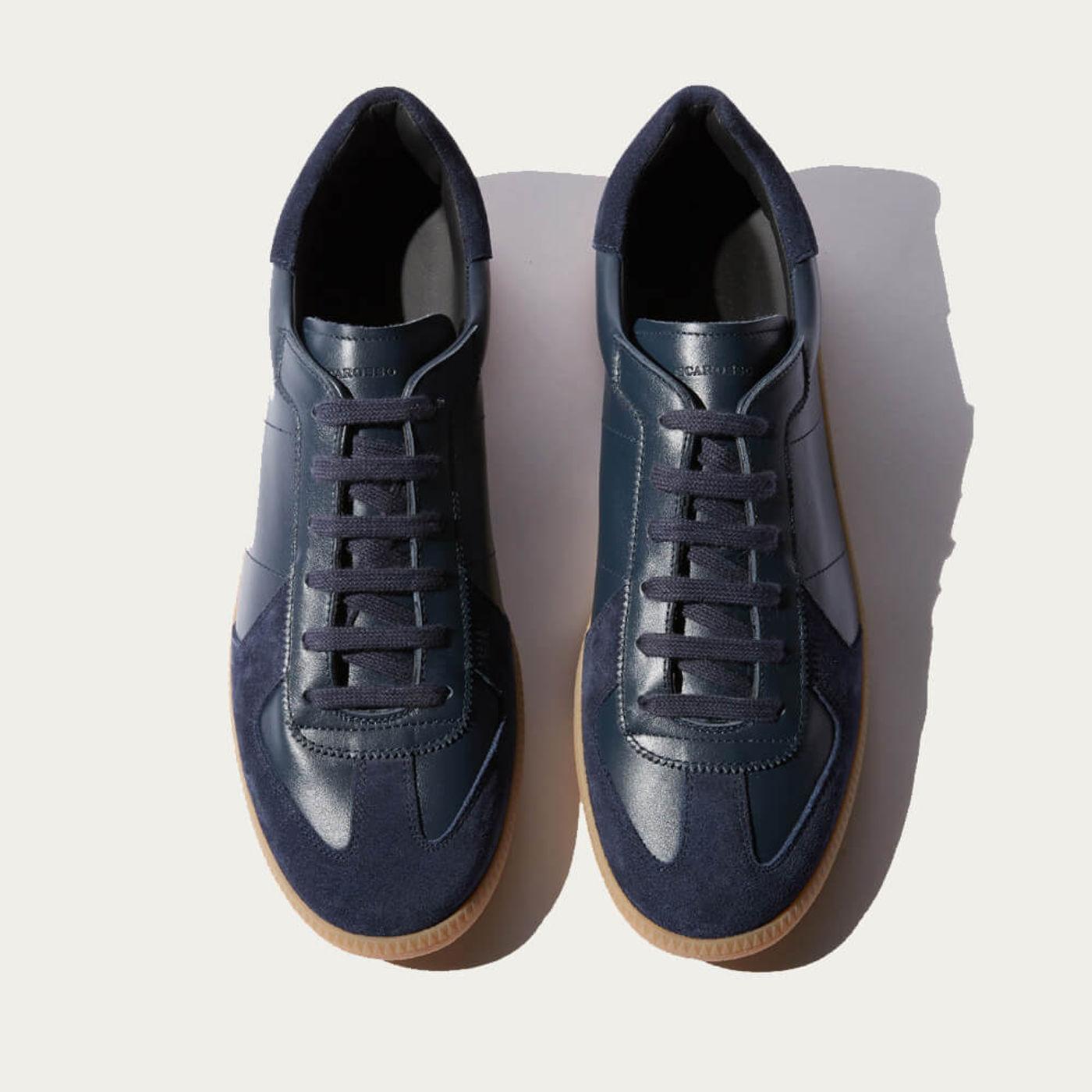 Blue Ryan Sneakers | Bombinate