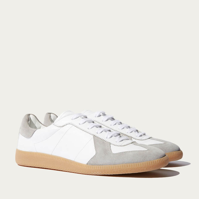 White Ryan Sneakers | Bombinate