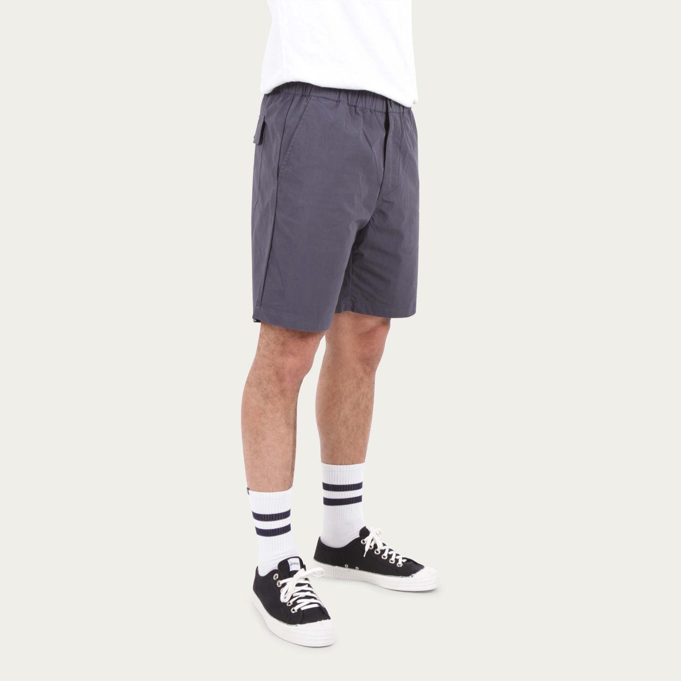 Navy Paper Shorts  | Bombinate