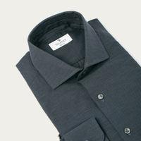 Navy Light Flannel Shirt   Bombinate