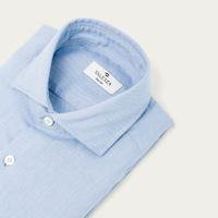 Blue Cashmere Flannel Shirt   Bombinate