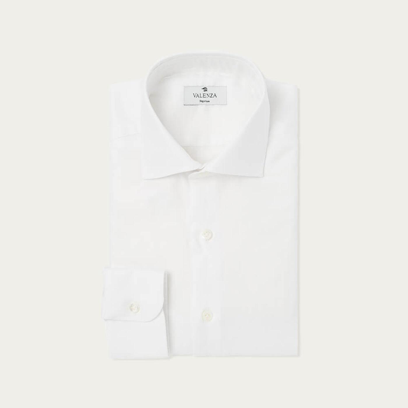 White Organic Twill Shirt   Bombinate