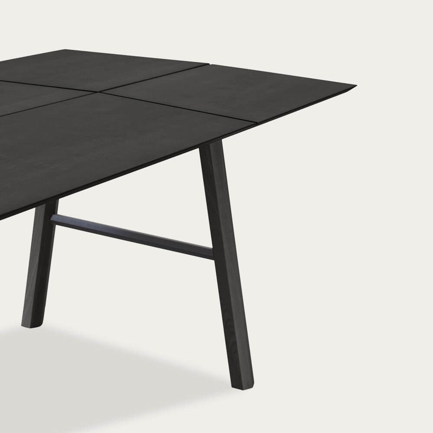Black Wood/Black Savia Table   Bombinate