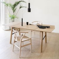 Light Wood/Black Savia Table | Bombinate