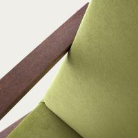 Apple Green Retrostar Chair Velvet Line   Bombinate