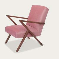 Rosa Retrostar Chair Velvet Line | Bombinate