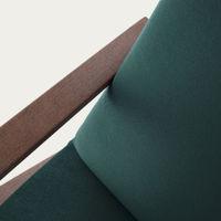 Hunter Green Retrostar Chair Velvet Line   Bombinate