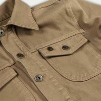 Army Raw Canvas Single Rider Jacket | Bombinate