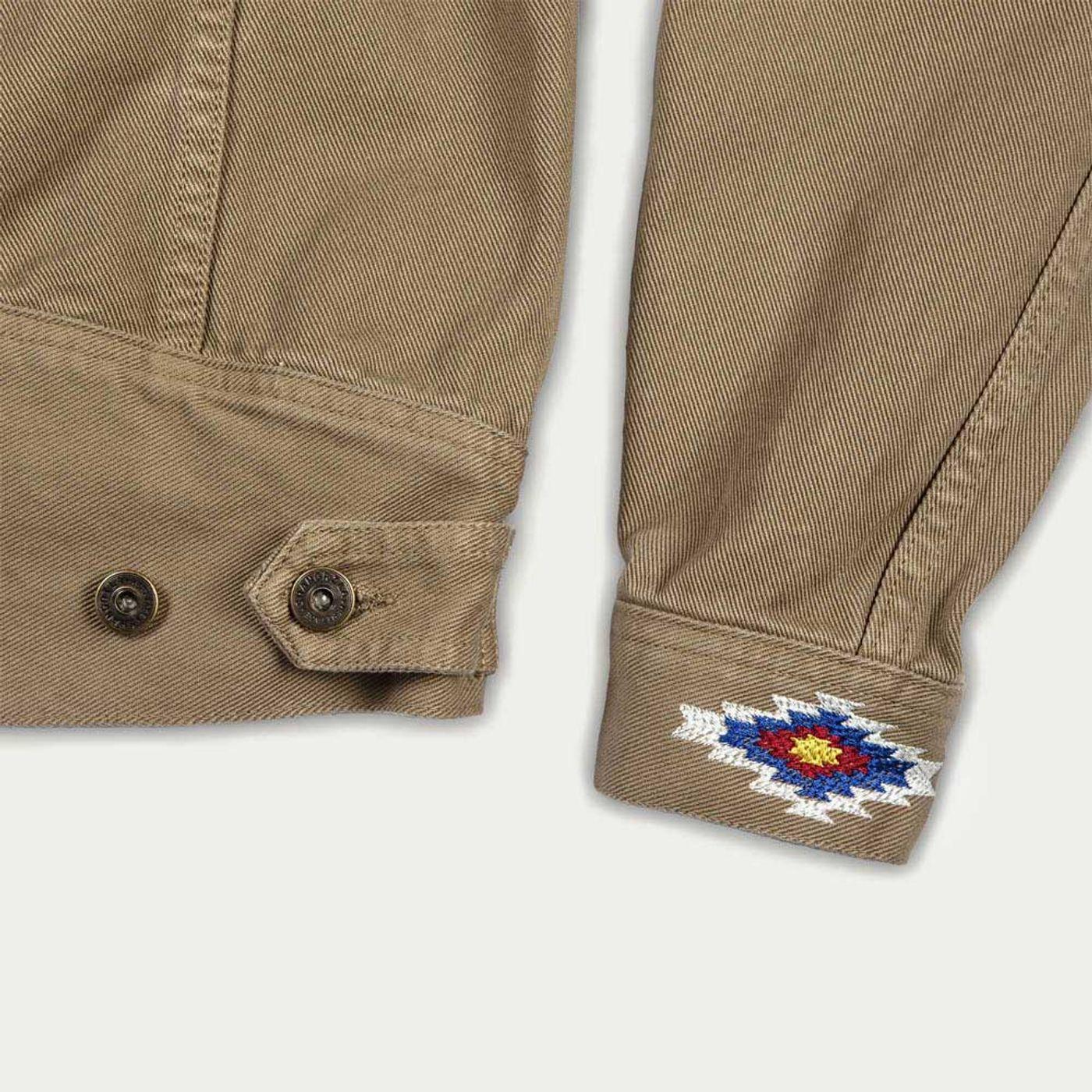 Army Canvas Single Rider Jacket Sparviero Navajo Limite Edition  | Bombinate