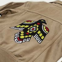 Army Raw Single Rider Canvas Jacket Sparviero Thunderbird Limited Edition  | Bombinate