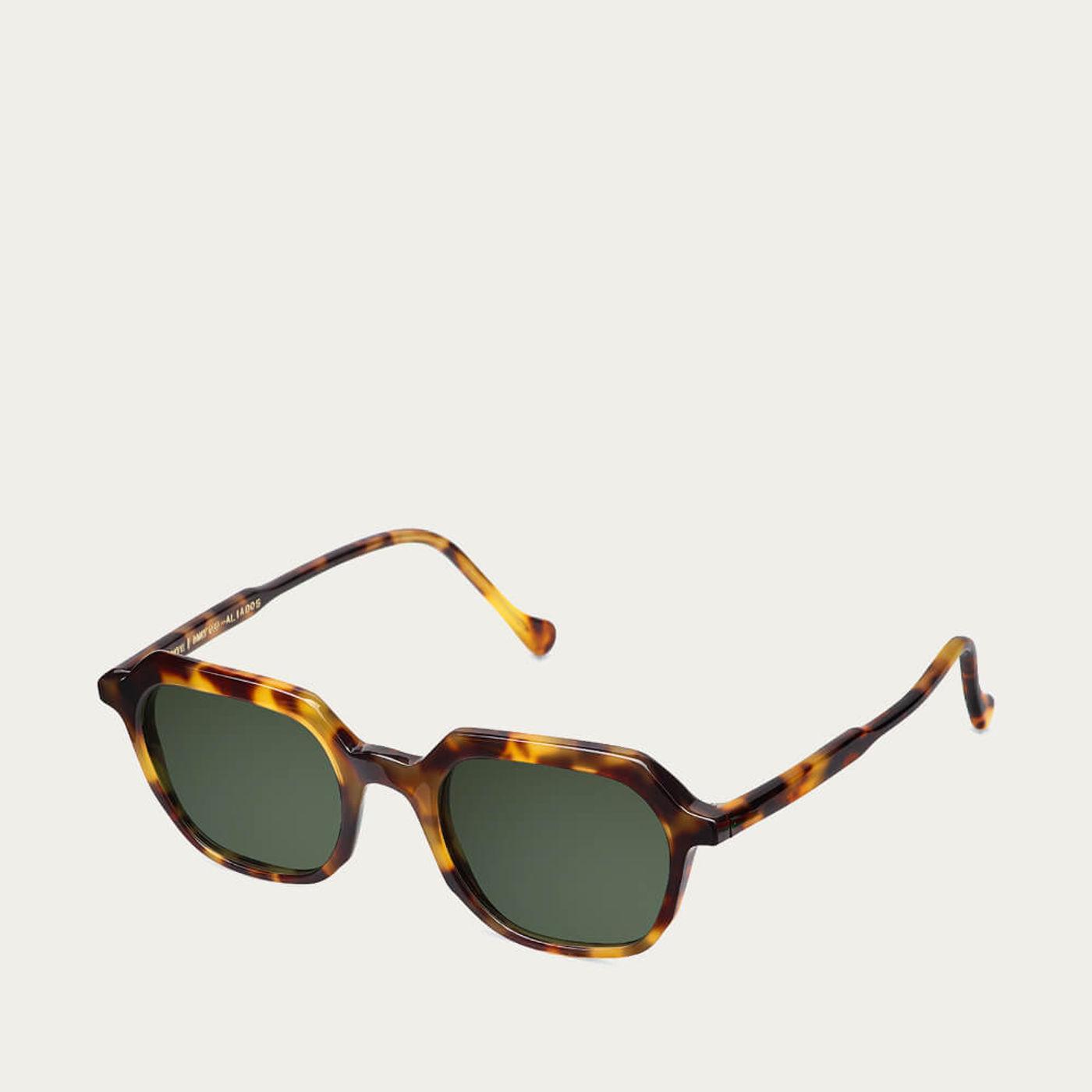 Beige Tortoise Aliados Sunglasses | Bombinate