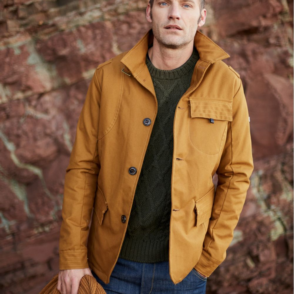 Mustard Cambric 10 Bexley Jacket | Bombinate