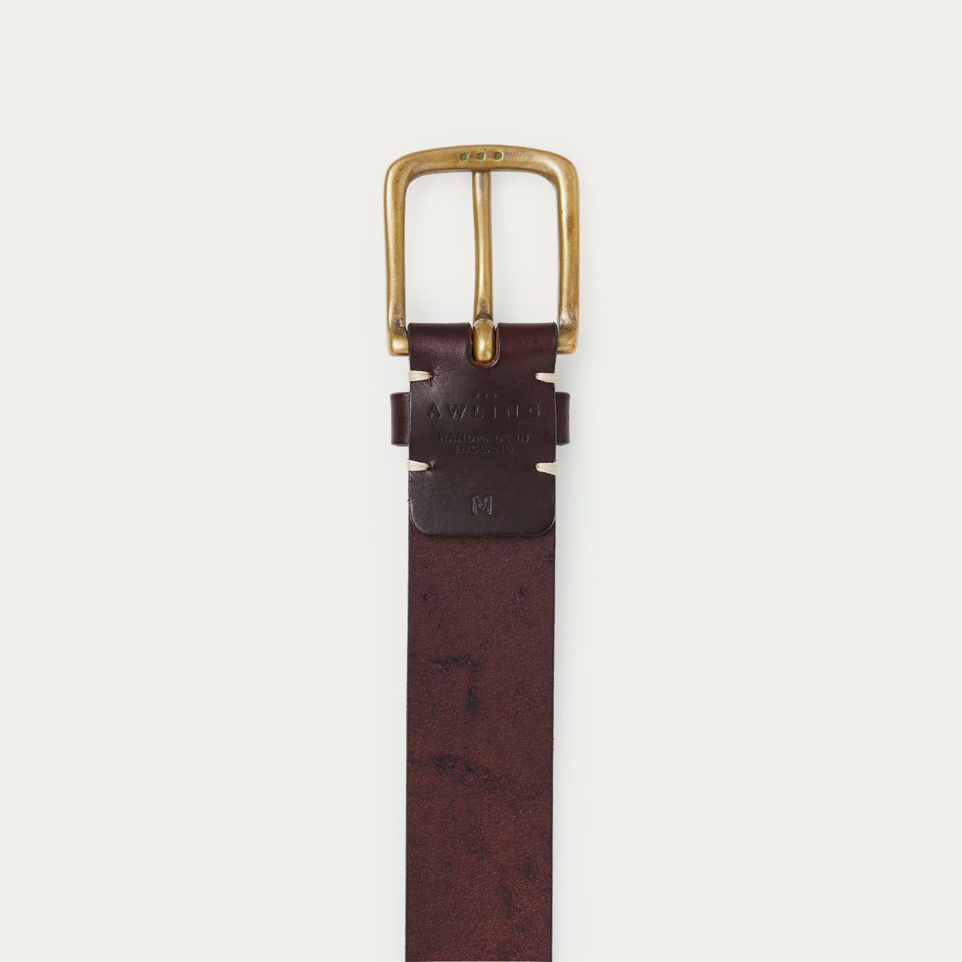 Walnut Brown/Brass Original Belt  | Bombinate