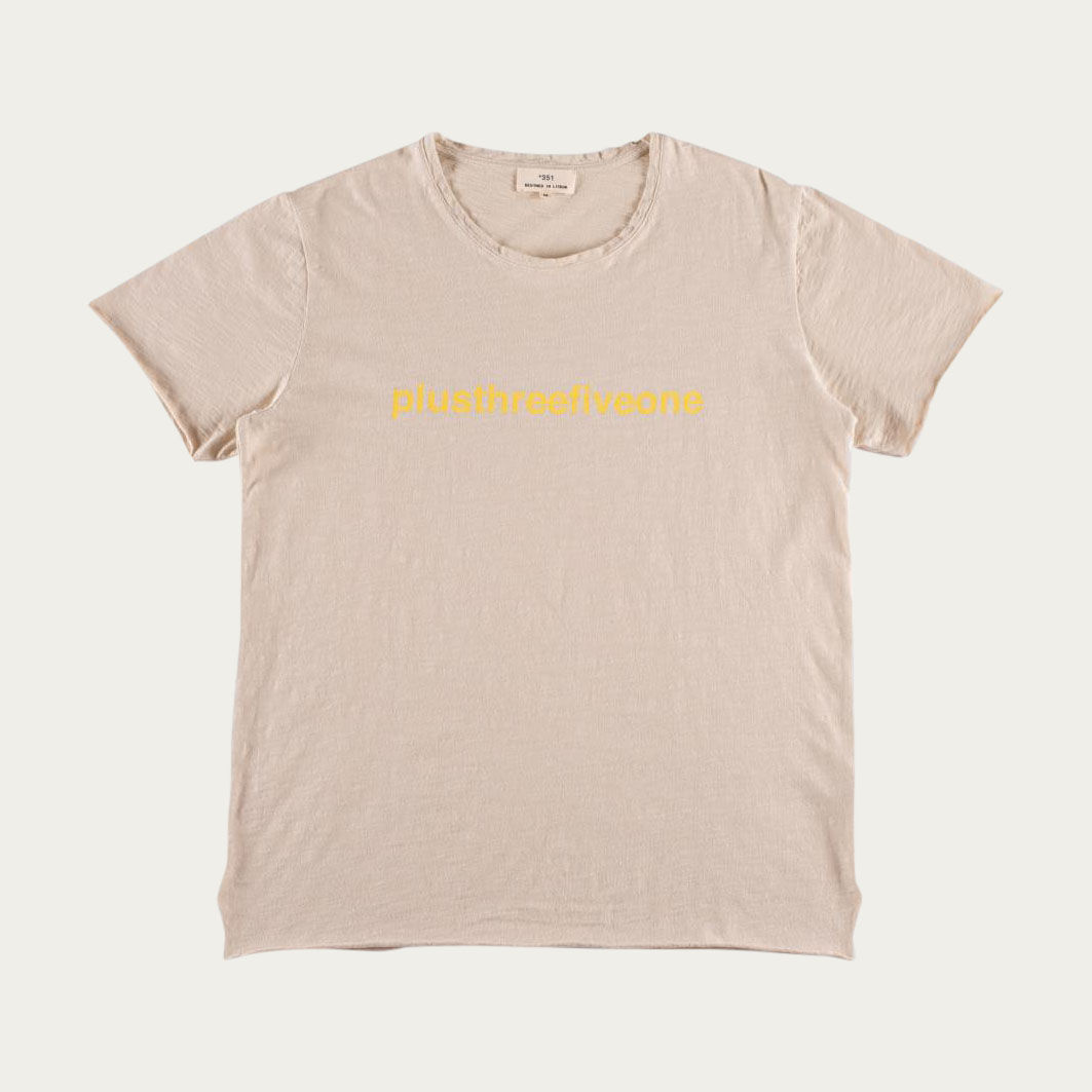 Sand and Yellow Plus351 Tee-shirt | Bombinate