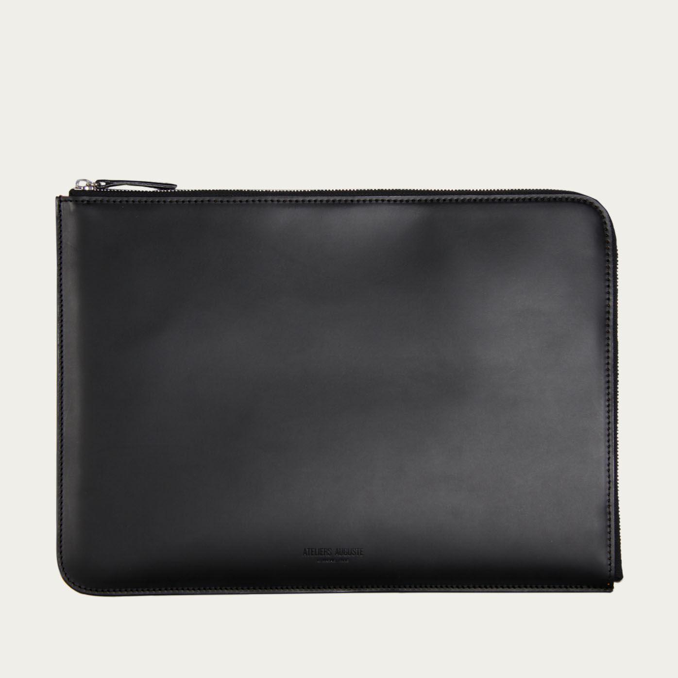 Black Trevis Laptop Sleeve  | Bombinate