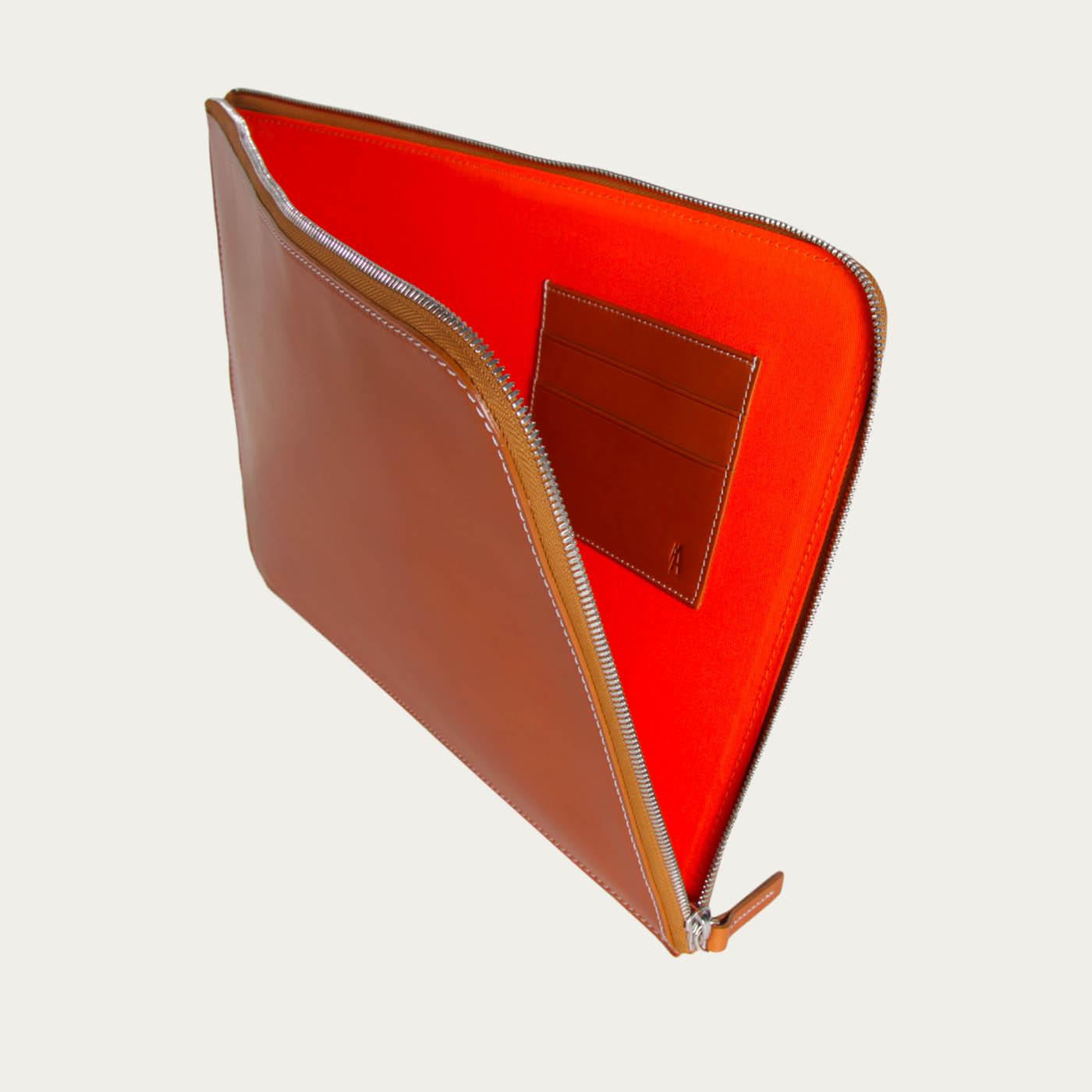 Tan Trevis Laptop Sleeve  | Bombinate