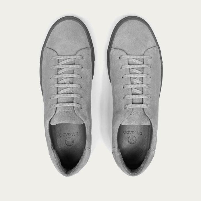 Gray Umberto Suede Sneakers | Bombinate