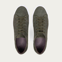 Green Giuseppe Suede Sneakers | Bombinate