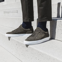 Green Giuseppe Suede Sneakers   Bombinate
